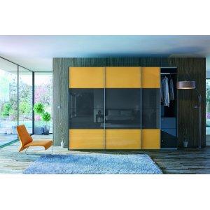 Шкаф-купе Уно yellow