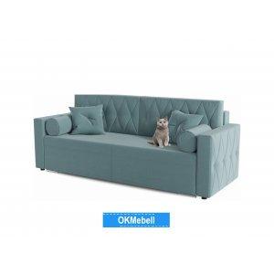 Диван прямой Милфорд Blue