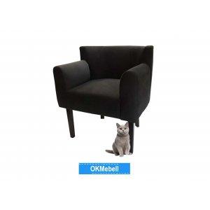 Кресло Камилла черное