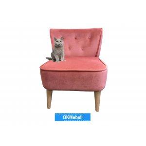 Кресло Тики розовое