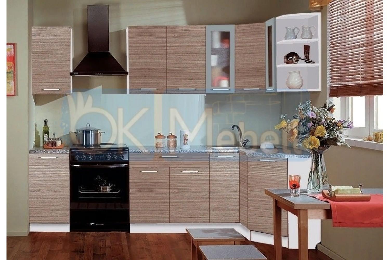 Угловая кухня Трапеза классика ОКМ