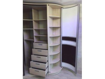 Радиусный шкаф Оризона