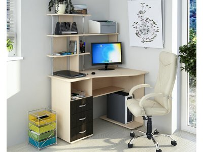 Компьютерный стол Делюк